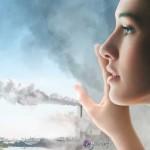 La contaminación, un invisible peligro para la salud y la piel