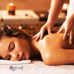 El masaje relajante